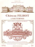 Chateau Filhot 2001